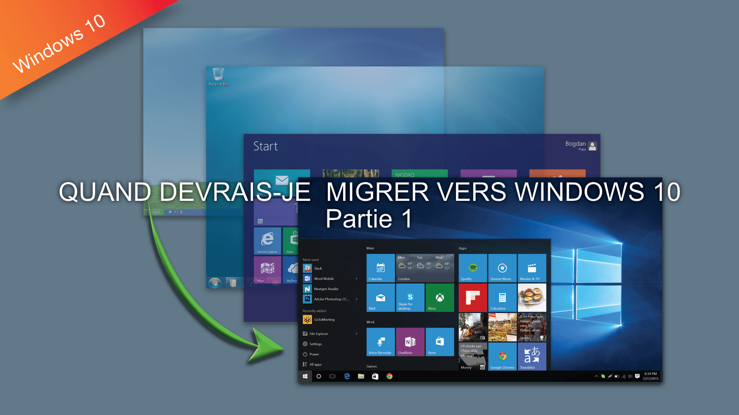Migration Windows 10 partie 1