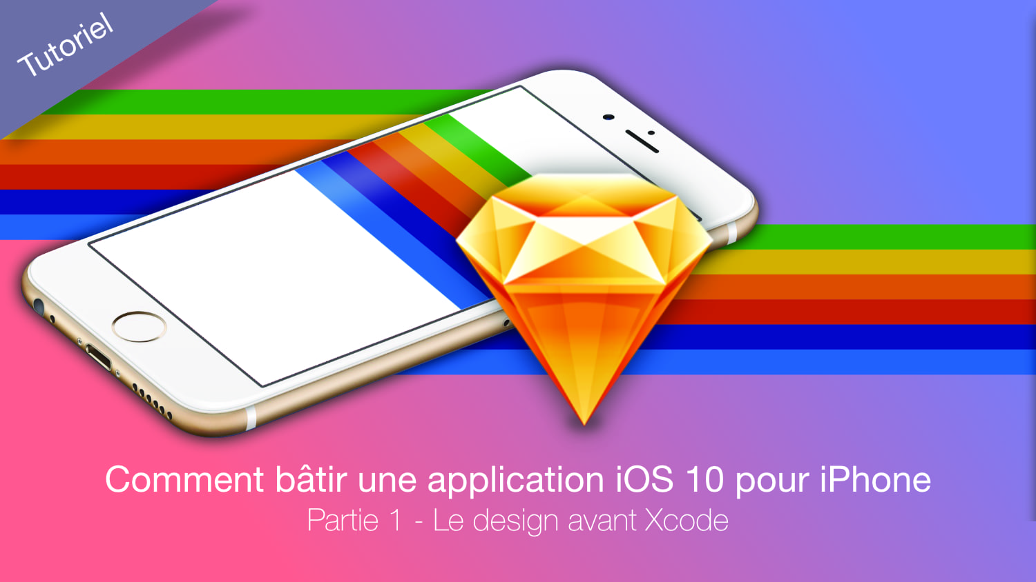 iPhone image et logo de sketch