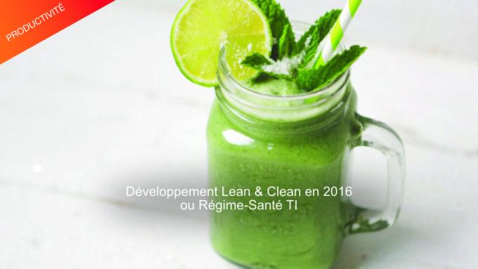 développement lean & clean