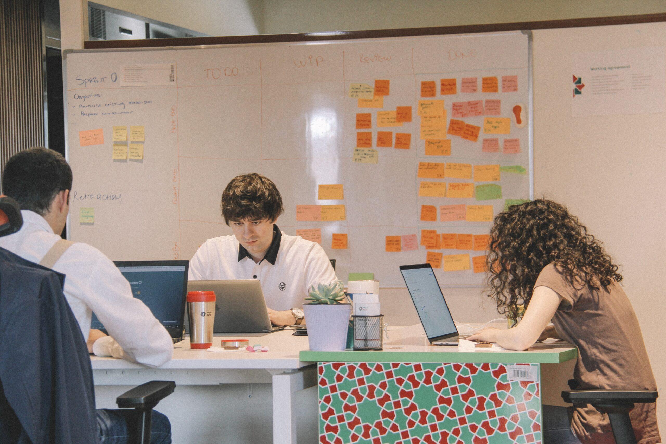 Sprint d'une Équipe de Développement d'un Projet logiciel