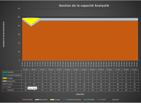 Gestion des Capacités chez Analystik, firme de Développement logiciel